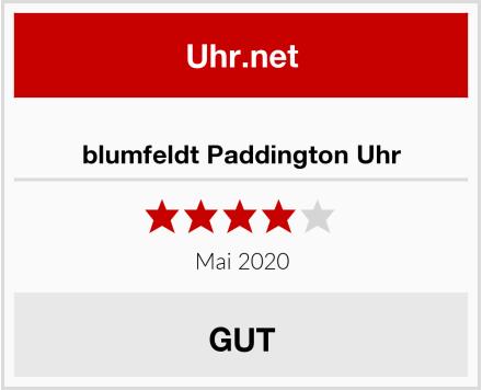 No Name blumfeldt Paddington Uhr Test