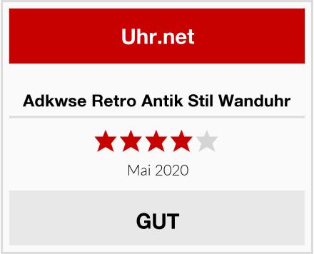 Adkwse Retro Antik Stil Wanduhr Test
