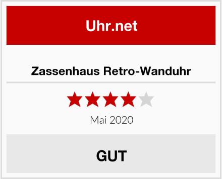 No Name Zassenhaus Retro-Wanduhr Test