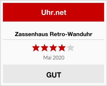 Zassenhaus Retro-Wanduhr Test