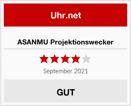 ASANMU Projektionswecker Test