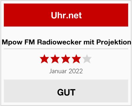 Mpow FM Radiowecker mit Projektion Test