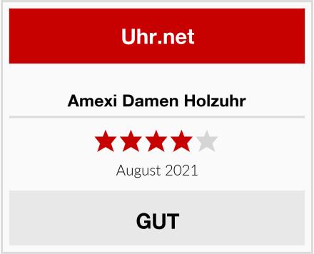 No Name Amexi Damen Holzuhr Test