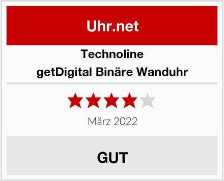 Technoline getDigital Binäre Wanduhr Test