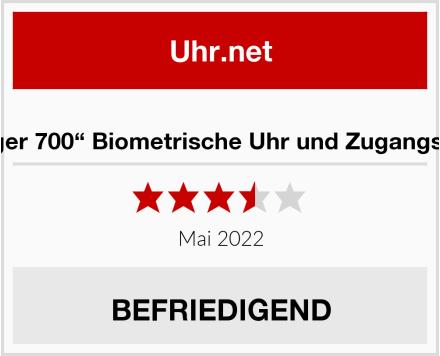 """PNI """"Finger 700"""" Biometrische Uhr und Zugangskontrolle Test"""