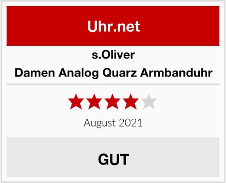 s.Oliver Damen Analog Quarz Armbanduhr Test