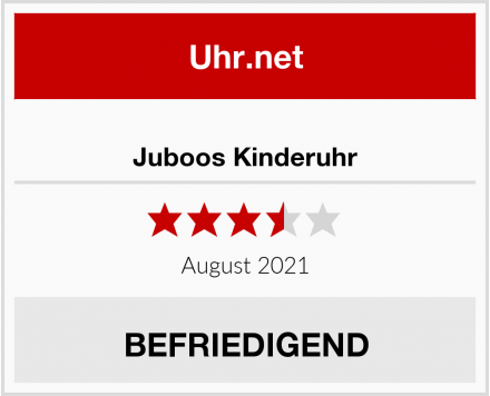 Juboos Kinderuhr Test