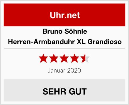 Bruno Söhnle Herren-Armbanduhr XL Grandioso Test
