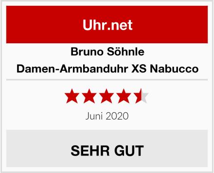 Bruno Söhnle Damen-Armbanduhr XS Nabucco Test