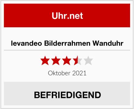 levandeo Bilderrahmen Wanduhr Test