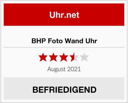 BHP Foto Wand Uhr Test