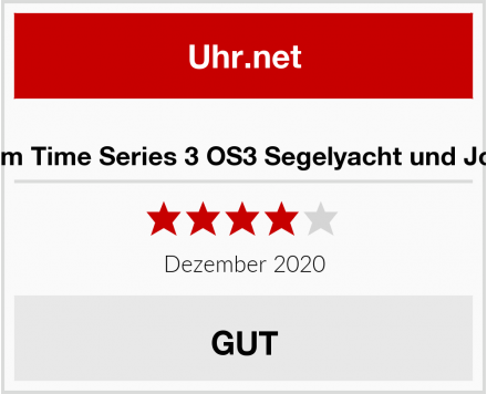 Optimum Time Series 3 OS3 Segelyacht und Jollenuhr Test