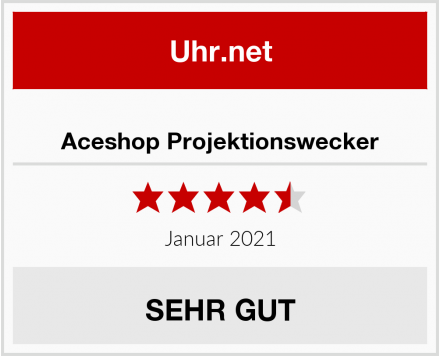 Aceshop Projektionswecker Test