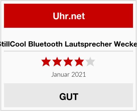 StillCool Bluetooth Lautsprecher Wecker Test