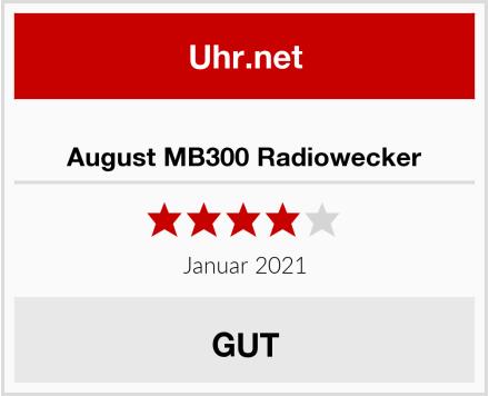 August MB300 Radiowecker Test