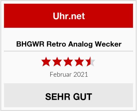 BHGWR Retro Analog Wecker Test