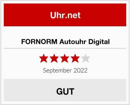 FORNORM Autouhr Digital Test