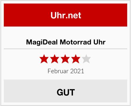 MagiDeal Motorrad Uhr Test