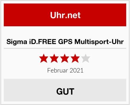 Sigma iD.FREE GPS Multisport-Uhr Test