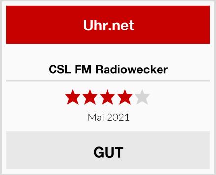 CSL FM Radiowecker Test