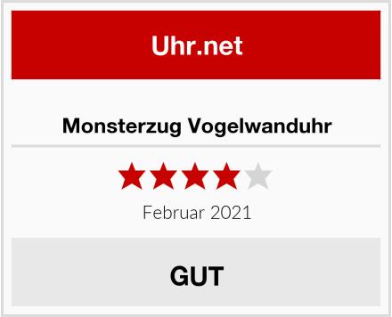 Monsterzug Vogelwanduhr Test