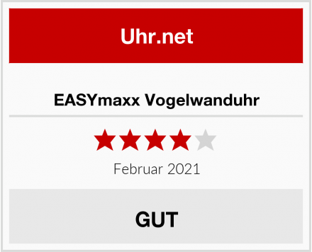 EASYmaxx Vogelwanduhr Test