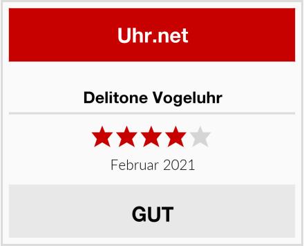 Delitone Vogeluhr Test