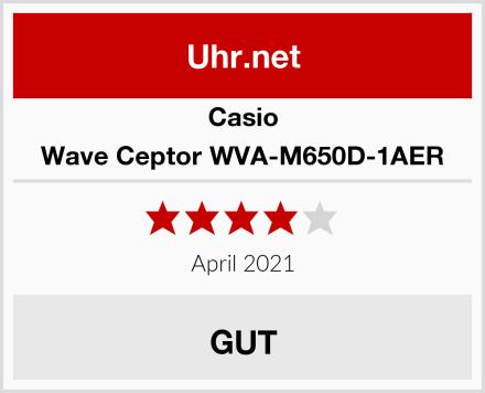Casio Wave Ceptor WVA-M650D-1AER Test
