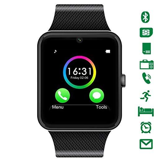 No Name CHEREEKI Bluetooth Smartwatch mit Kamera