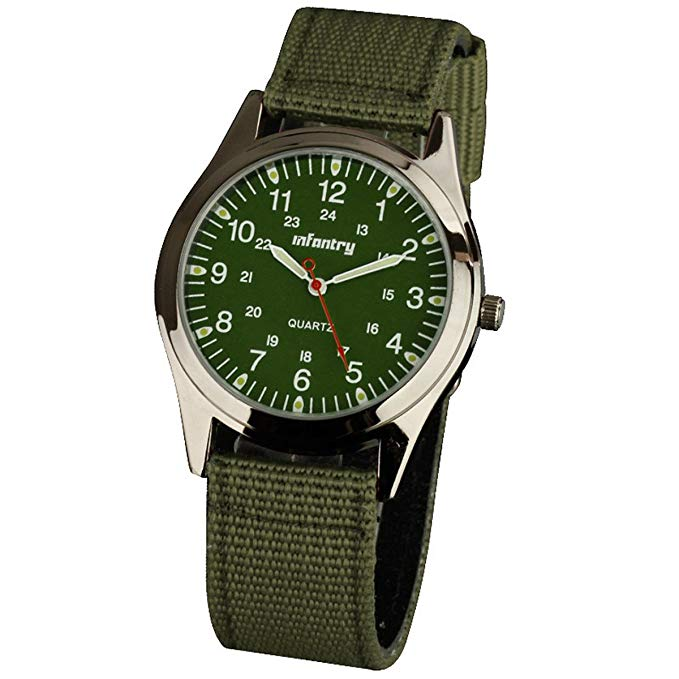No Name Infantry Herren Uhr