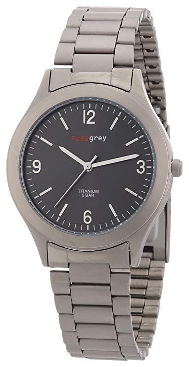Pure grey Titan Herrenuhr 1320 S