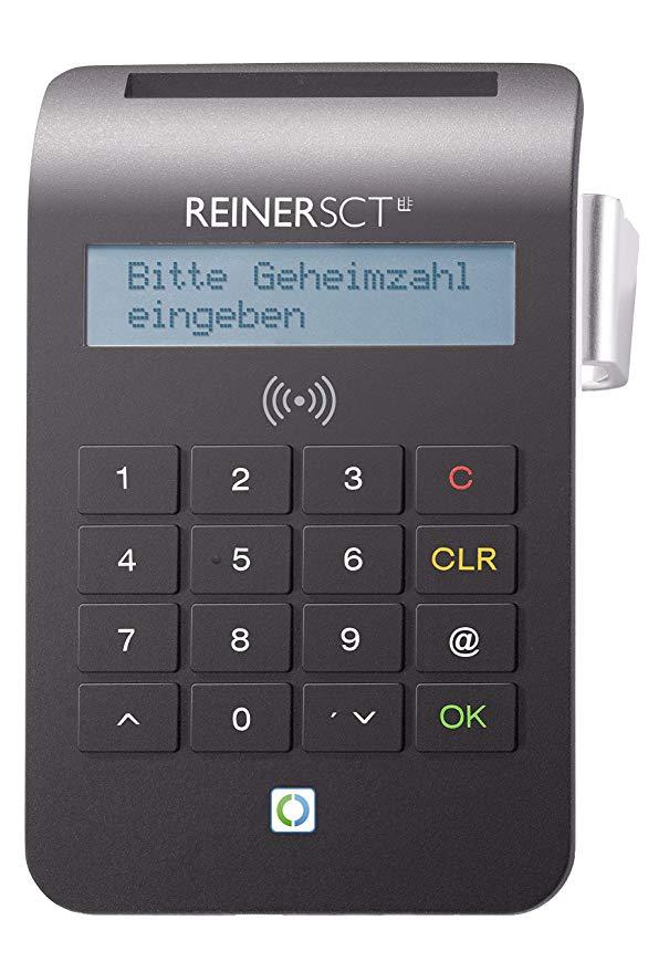 No Name REINER SCT cyberJack RFID Chip-Kartenlesegerät komfort