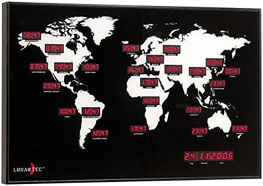 PEARL Digitale Weltzeit-Uhr