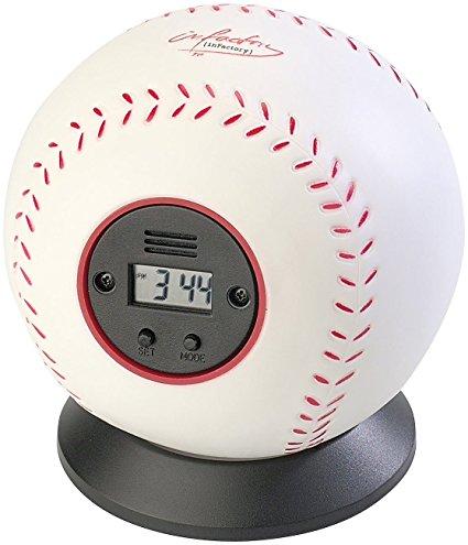 PEARL Wurf-Wecker Baseball
