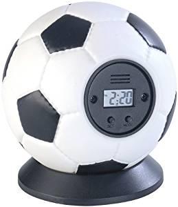 PEARL Wurf-Wecker Fußball