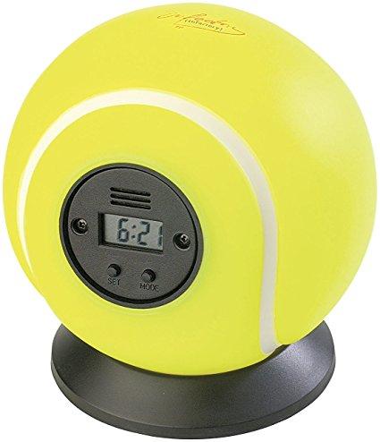 PEARL Wurf-Wecker Tennisball