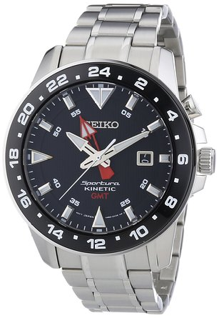 Seiko XL Sportura Kinetic GMT