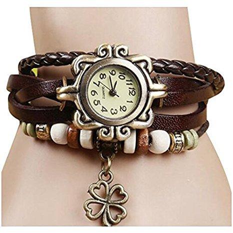 SODIAL Armband-Uhr für Damen