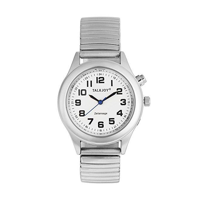 TalkJoy Profi Herren Sprechende Armbanduhr