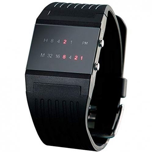 Monsterzeug Binäre Armbanduhr