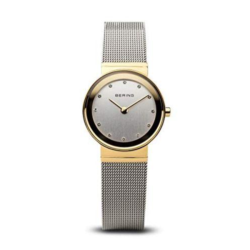 Bering Damen Armbanduhr Edelstahl