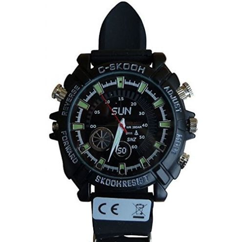 KOBERT GOODS K34 Full-HD Überwachungs-Kamera Uhr