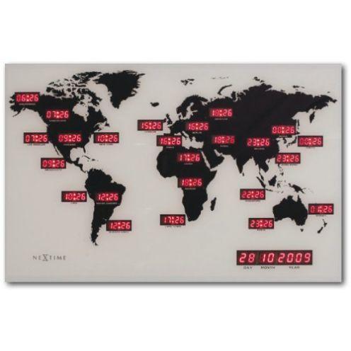 NeXtime 2897 Weltzeituhr