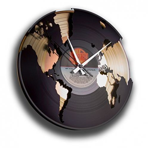 DISC´O´CLOCK-Store Wanduhr aus Vinyl