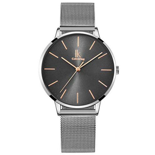 Alienwork IK Minimalistisch Damen Armbanduhr