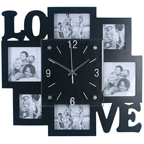 BHP Foto Wand Uhr
