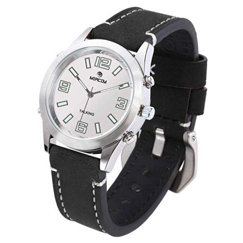 MEACOM Aceown Deutsch Sprechende Armbanduhr