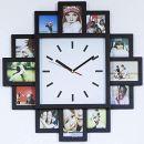Monsterzeug Bilderrahmen Uhr