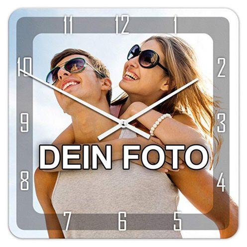 PhotoFancy® - Uhr mit Foto bedrucken