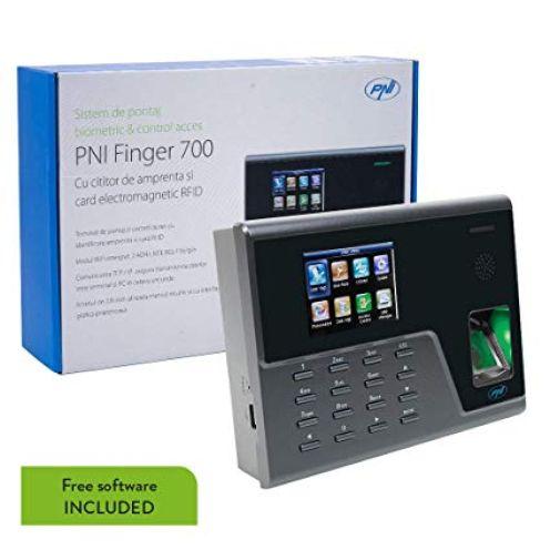 """PNI """"Finger 700"""" Biometrische Uhr und Zugangskontrolle"""